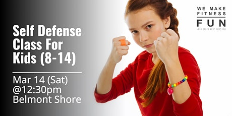 Self Defense Class For Kids (age 8-14) tickets