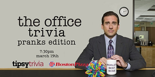The Office Trivia - March 19, 7:30pm - YYC Boston Pizza North Hill