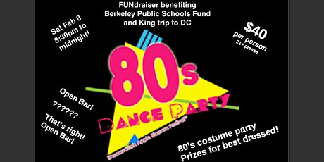 80's Dance Party FUNdraiser tickets