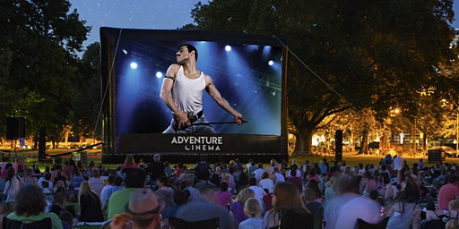Bohemian Rhapsody Outdoor Cinema Experience in Colwyn Bay