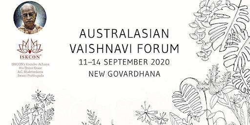 Australian Vaishnavi Forum 2020