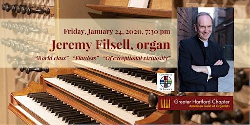 Organist Jeremy Filsell in Concert