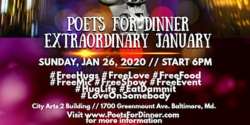 Poets For Dinner, Extraordinary January