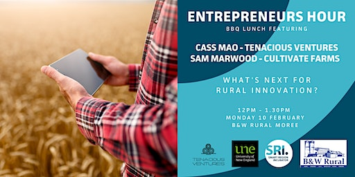 SRI Entrepreneurs Hour in Moree - with Cass Mao and Sam Marwood