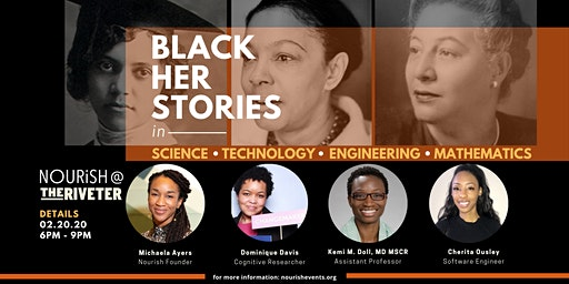 Nourish Night: Black Her Stories in STEM |Capitol Hill