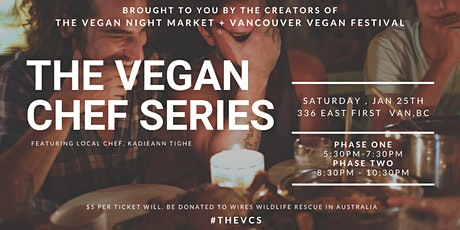 The Vegan Chef Series: Southern Comfort Food with Chef Kadieann Tighe tickets
