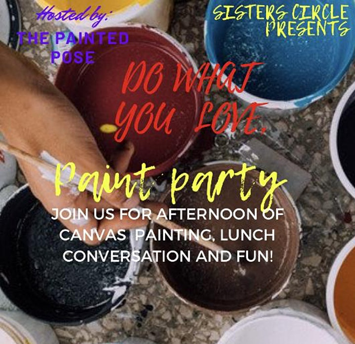 Do what you love, paint party image