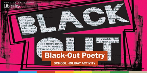 Black-Out Poetry (11-17 years) - Woodford Library