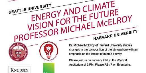 Energy and Climate Vision for the Future with Professor McElroy