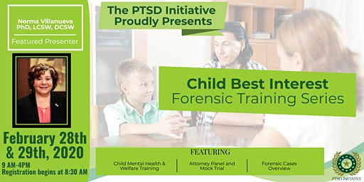 Child Best Interest Forensic Training for Mental Health Professionals