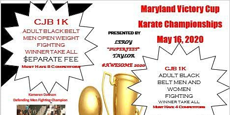 Maryland Victory Cup Karate Championship 2020