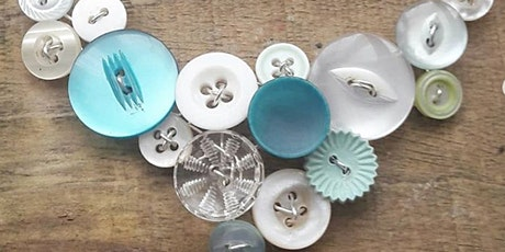 Collage Button Necklace Workshop  tickets