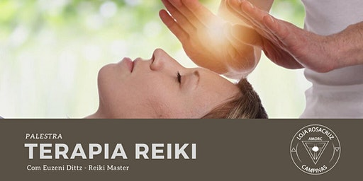 Palestra - Terapia Reiki com Elseny Dittz - Reiki Master
