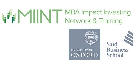 Oxford MIINT Masterclass- Financial Modelling