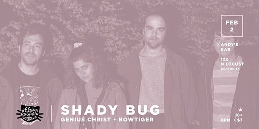 Shady Bug @ Andy's Bar (Venue)