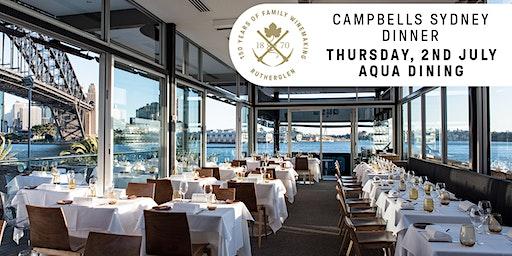 Campbells Sydney Dinner