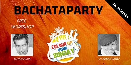 Colour Up - Bachataparty Tickets