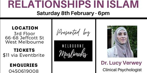 Relationships In Islam With Dr Lucy Verwey