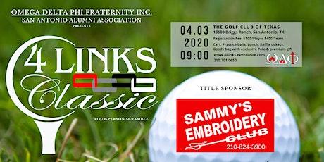4 Links Classic Golf Tournament  tickets