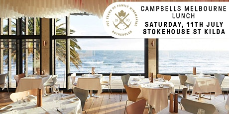 Campbells Melbourne Lunch tickets