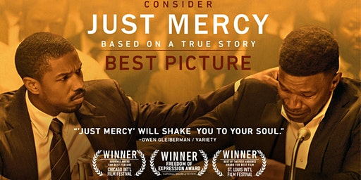 Join New Hope A.M.E. Church for a special showing of JUST MERCY