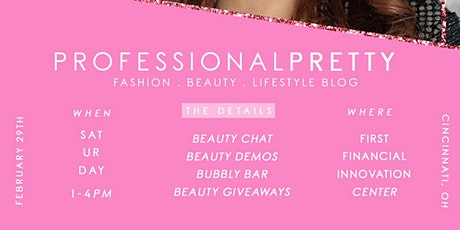 Professional Pretty Blog Launch tickets