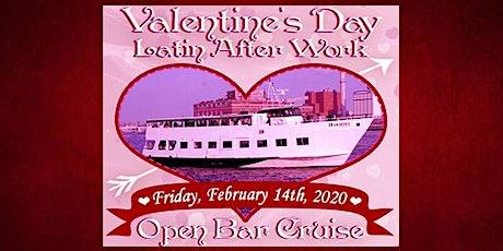 Valentine's Day Latin After Work Open Bar Cruise tickets