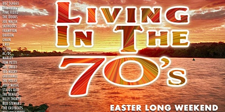 LIVING IN THE 70s Tweed River Cruise 5 tickets