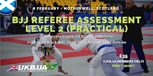 Brazilian Jiu Jitsu Referee Assessment - Level 2 (practical) - Scotland