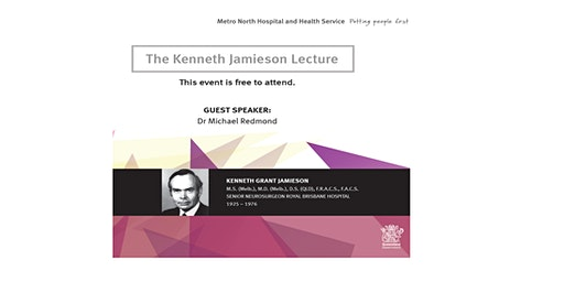 The Kenneth Jamieson Lecture