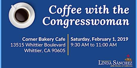 Coffee with Congresswoman Linda Sánchez tickets