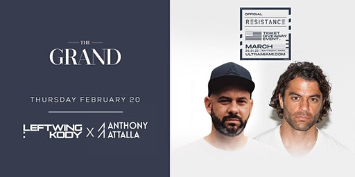 Leftwing: Kody X Anthony Attalla | The Grand Boston 2.20.20