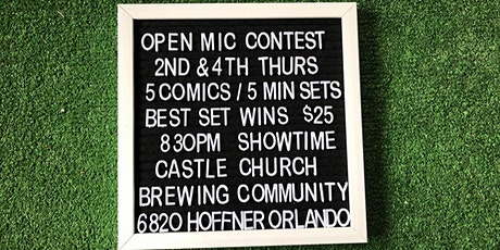 Castle Church Comedy Contest tickets