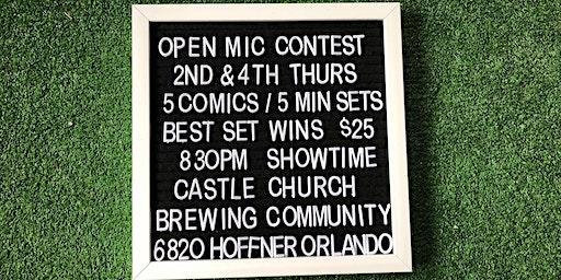 Castle Church Comedy Contest
