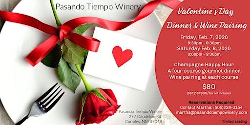 Valentine's Day Dinner & Wine Pairing