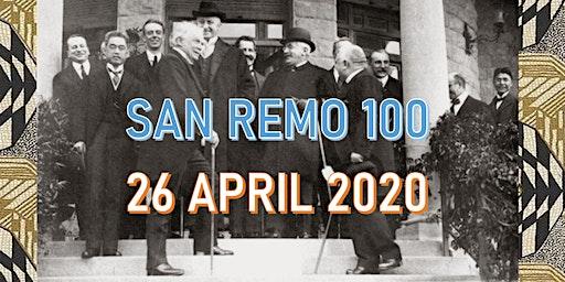 San Remo Centenary Celebration Conference