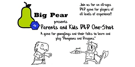 Parents And Kids D&D One-Shot tickets