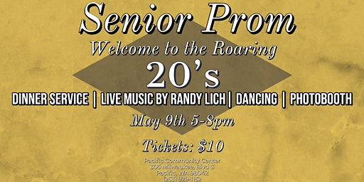 Senior Prom: Welcome to the Roaring 20's