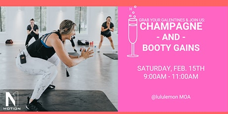 lululemon x Aly Mcpherson (N1 Motion) presents: Champagne & Booty Gains  tickets