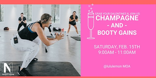 lululemon x Aly Mcpherson (N1 Motion) presents: Champagne & Booty Gains
