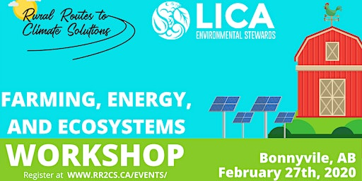 Farming, Energy, and Ecosystems Workshop