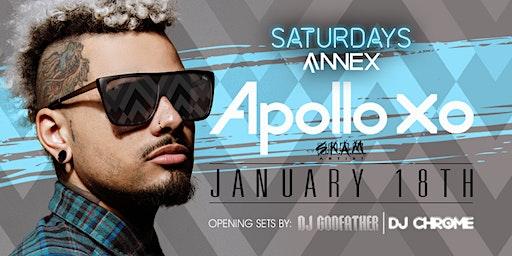 Saturdays At Annex presents ApolloXO on January 18th!