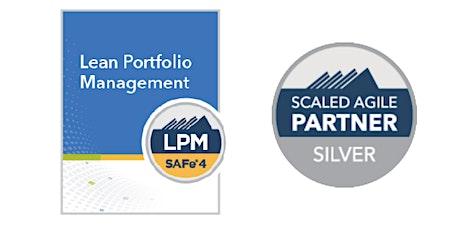 Lean Portfolio Management with LPM Certification in Las Vegas tickets