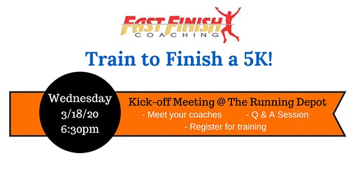 Kick-off Meeting - 5K Training Group - Spring 2020