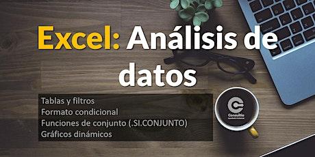 Excel - Análisis de datos entradas