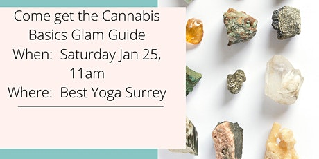 Glam Guide to Cannabis Basics tickets