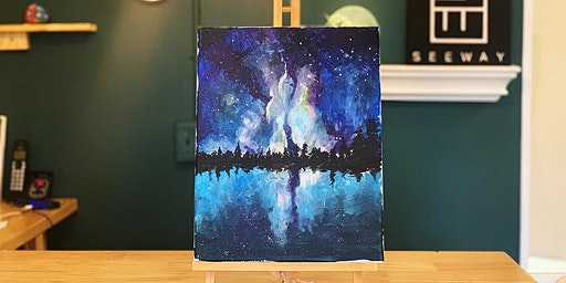 THINGS TO DO -PAINT & SIP EVENT: GALAXY
