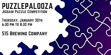 Puzzlepalooza Jigsaw Puzzle Competition tickets