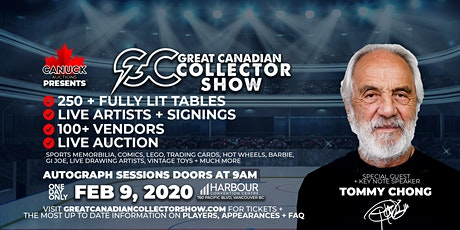 Great Canadian Collector Show tickets