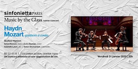 «Music by the Glass» Cœur de l'hiver! Vendredi, 31 janvier 2020 | 20H billets